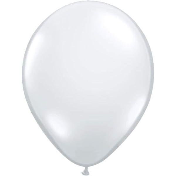 """50 Qualatex 16/"""" Helium//Air Solid Colour Latex Balloons PALE BLUE"""