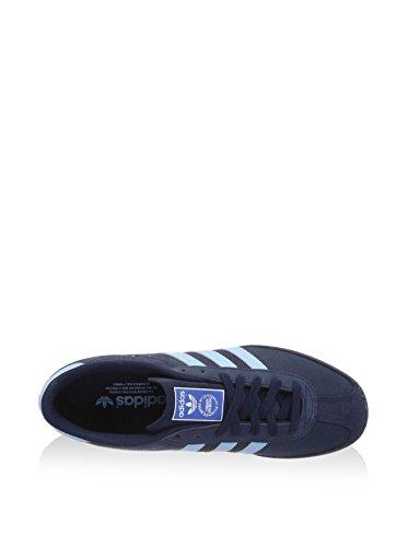 adidas Herren Bamba Sneaker, Blau/Marineblau Blau