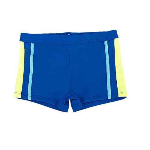Fitted Swim Boxer - Aivtalk Boys Swim Boxer Briefs Quick Drying Soft Polyester High Compression Swimming Trunk 4-5T Navy Blue