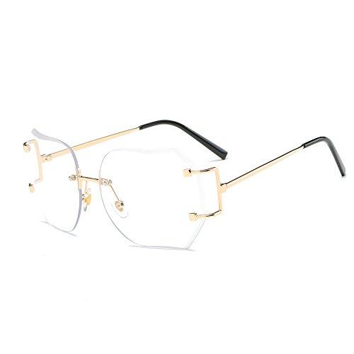 Lunettes De Soleil Covermason Hommes femmes lentille transparente verres  Spectacle Metal Frame myopie lunettes Lunette Femme 32f9679fffa