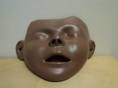 Junior Cpr Manikin (New Laerdal Junior Dark Skin Face Removable Manikin Cpr 183010 Single Head)