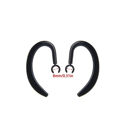 Replacement Earhook Ear Hook Loop Earloop Clip Fo Bluetooth Headset - L060 New - Headset Soft Earloop