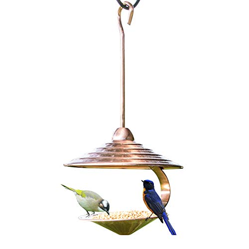 - Sungmor Electroplated Copper Bird Feeder for Outside | 15