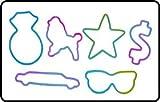 Zany Bandz Hollywood 24-Pack Tie Dye + Free Moonz & Starz DayGlow Necklace To Wear Your Zany Bandz On!!!