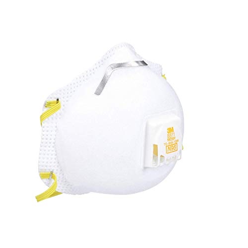 3M 8511PB1-A-PS Particulate N95 Respirator with Valve, 18-Pack by 3M Safety...x (Image #6)