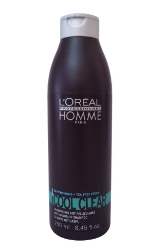L'Oreal Homme холодный ясный шампунь против перхоти для мужчин, 8,45 Унция