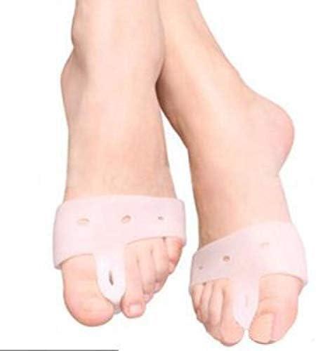 Tatapai Orthopädische Einlegesohlen 1 Paar Neue Silikon FußzehenValgus Separatoren ReliefGlätteisen Zehenabscheider