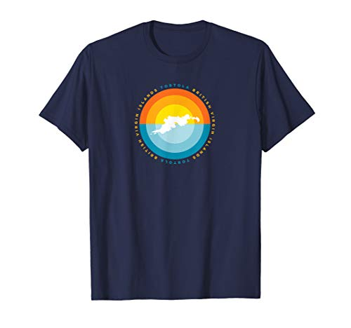 Tortola BVI British Virgin Islands Sunset Graphic T Shirt