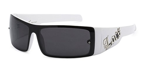 Locs Original Gangsta Shades Men's Hardcore Shield Lens - Uk Cheap Glasses Designer