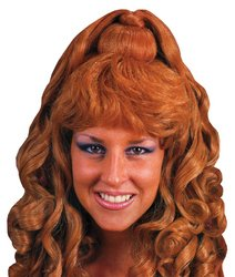 dolly2u WIG SPICY GLAMOUR BRUNETTE (Amber Wig)