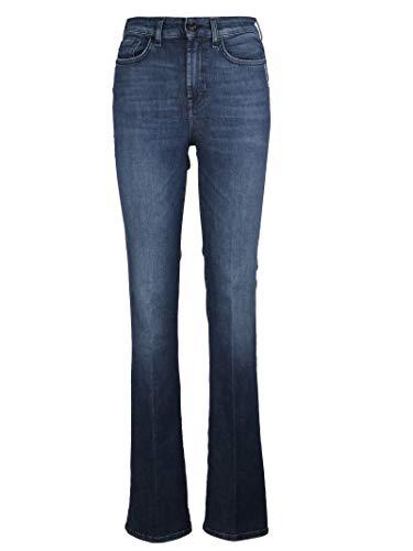 Mankind Sqnu940fq 7 Blu Donna Cotone Jeans For All qB8R8HEv