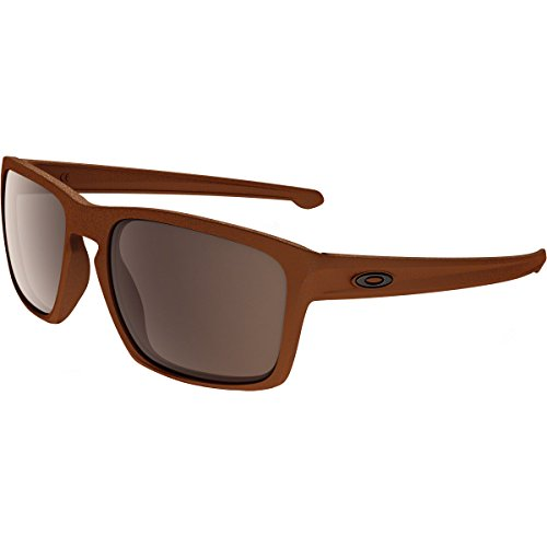 Oakley Adult Sliver Sunglasses, Corten/Warm Grey, One - Warm Oakley Grey