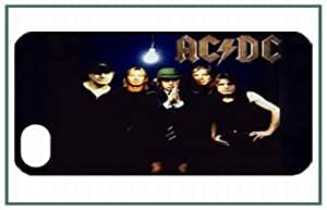 AC/DC iPhone5 iPhone 5 Black Designer Hard Case Cover Protector Bumper by icecream design