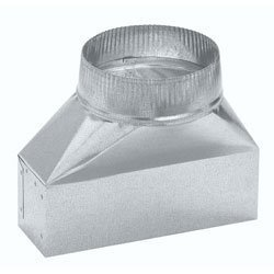 Vent Hood Transition - Duct Adapter