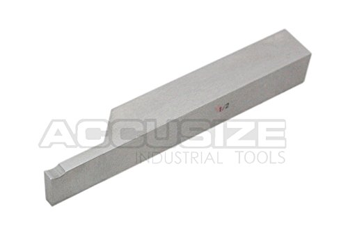 AccusizeTools - 1/2 inch 8 pcs H.S.S. Tool Bit Set, Pre-Ground for Turning & Facing Work, for Aluminum.Steel, Brass, Plastic & Wood, 2662-2004 by Accusize Industrial Tools (Image #7)