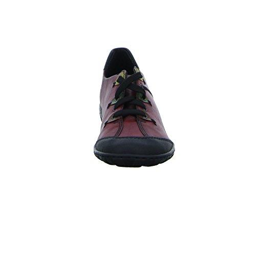 schwarz Femme Basses Rieker leaf wine Rouge M3722 brandy Sneakers lorbeer w1qPPxFX