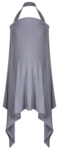 Milkscarf by MamaMoosh in Dove Grey -breastfeeding cover / scarf