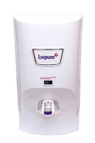 Livpure Hero Star RO UV UF TE 7L Water Purifi..
