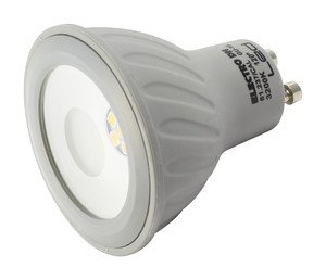ElectroDH 81237BLANC DH Bombilla LED GU10.7W.Profesional.Blanca: Amazon.es: Bricolaje y herramientas