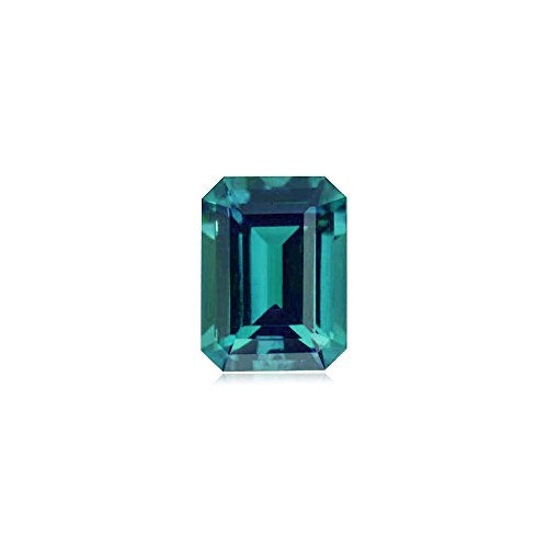 - 1.41-2.05 Cts of 8x6 mm AAA Emerald-Cut Russian Lab Created Alexandrite ( 1 pc ) Loose Gemstone