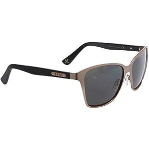Zeal Optics Laurel Canyon Polarized Sunglasses - Rose Gold Frame, Ellume Polarized Dark Grey Lenses