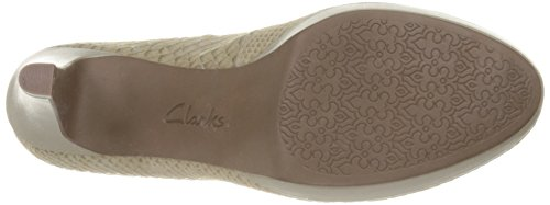 Delle Clarks Donne Brier Salvia Dolly Serpente Pompe D 6qwBHwvd