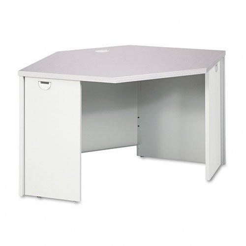 HON 38929G2Q 38000 Series 24 by 42 by 29-1/2-Inch Corner Desk, Gray -