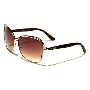 Fashion Eyewear New 2014 Women's High Fashion Celebrity Inspired Sunglasses-DG32161 (Maroon)