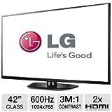 LG 42PN4500 42-Inch Plasma 720p 600Hz TV (Black), Best Gadgets