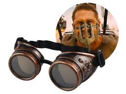 Cyberpunk Costumes (Steampunk Goggles Victorian Welding Cyber Punk Gothic Costume Cosplay Glasses Goggles (Brass Copper))