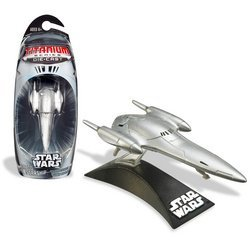 - Hasbro Titanium Series Star Wars 3INCH Vehicles - Royal Starship