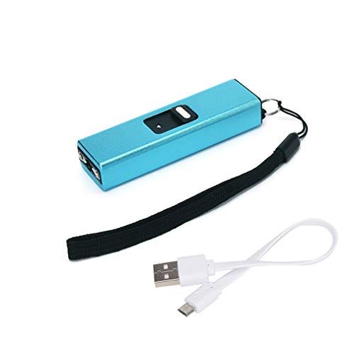 (Keepoc Keychain USB Stun Gun for Women 10 Milion Volt with LED Flashlight Rechargeable Mini Stun Gun)
