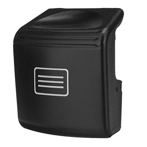 TOOGOO PC Sunroof Window Switch Button Black for Mercedes-Benz W204 C-Class