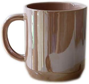 Rosa-blanco Perla Espejo Espejo Marca Mark Cup Of Coffee ...