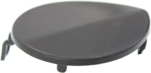 CPP Direct Fit Black Front Tow Eye Cover for BMW 3 Series BM1029122
