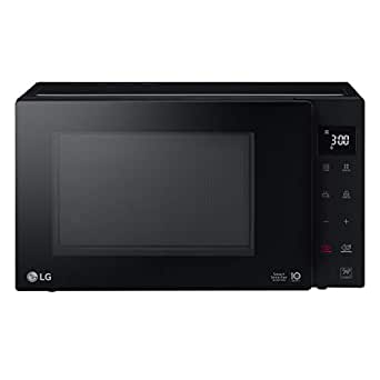 LG 23 Liters NeoChef Smart Inverter Microwave with Grill, Black - MH6336GIB