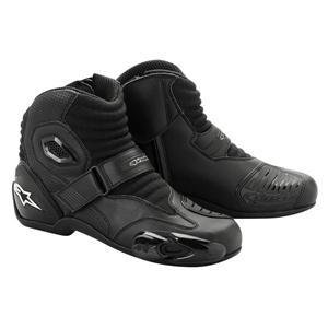 Alpinestars S-MX 1 Boots , Distinct Name: Black, Gender: Mens/Unisex, Size: 9.5, Primary Color: Black 2224012-10-44
