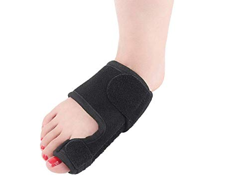 Orthopedic Bunion Corrector Splints for Women (2 Pack) - Helps Gently Reign and Stretch Big Toe Joint on Foot to Alleviate Pain - Great Brace for Night time use for Hallux valgus, Crooked Toes