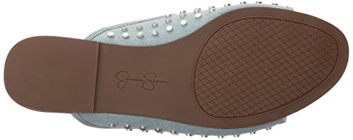 Simpson Women's Vintage Kloe Jessica Blue Sandal Slide OCdCq