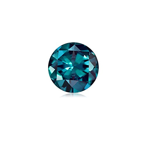 4.60-5.62 Cts of 10 mm AAA Round Russian Lab Created Alexandrite ( 1 pc ) Loose Gemstone