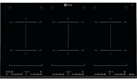 Electrolux EHH9967FOZ Piano di cottura ad induzione, Nero: Amazon.it ...