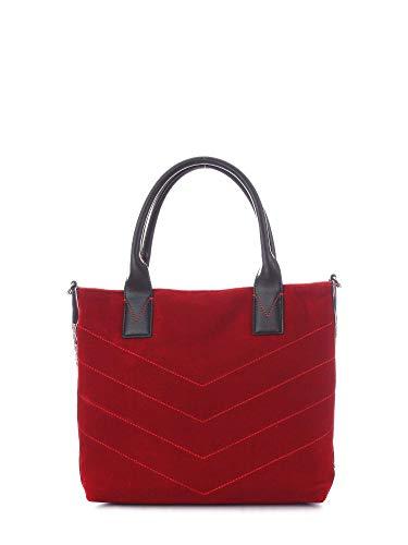 Mujer Tipo 1h20hmy4pgr200000 Bolso Pinko Shopper Poliéster Rojo adBx0q10