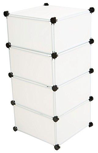 Mind Reader Storage Cube Organizer Closet Organizer Cabinet, DIY Shelving Unit