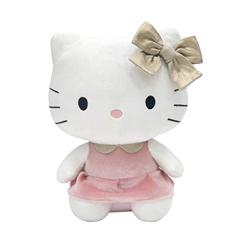Lambs & Ivy Hello Kitty Plush, Pink/White