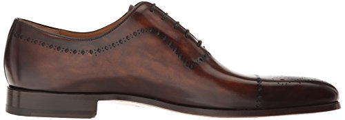 discount low price fee shipping Magnanni Men's Acilino Oxford Tobacco sneakernews for sale FyxCve0