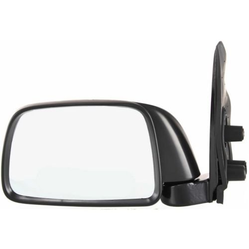 Make Auto Parts Manufacturing Driver Side Textured Black Manual Operated and Folding Non-Heated Door Mirror For Toyota Tacoma 1995-2000 TO1320116