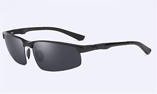 Metal Ultra Personalidad Sport Conducción Black Black de Gafas MG Hombres Polarized Moda Sol Light Frame la Al XIYANG de ZRHFgwO