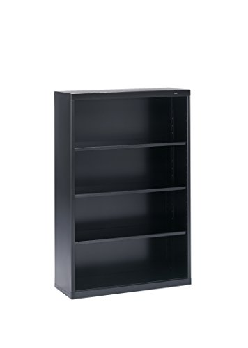 Tennsco Corporation B-53BK Welded Bookcase, 34-1/2