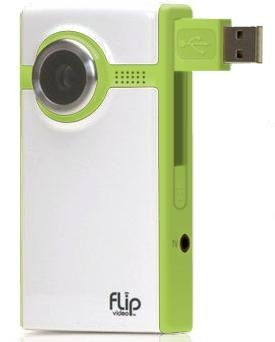Flip Video Camcorder: 30-Minutes Green
