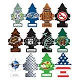 (Little Trees Car Air Freshener Masculine Super Variety pack 12 Count)